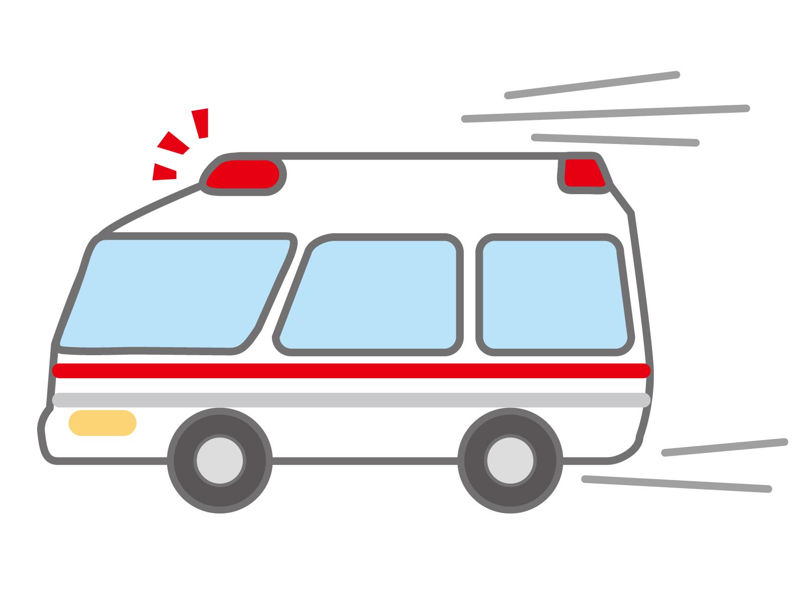 熱せんもう 救急車