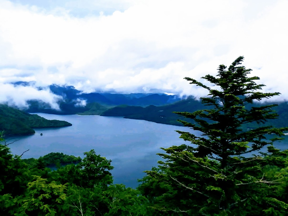 中禅寺湖展望台 中禅寺湖