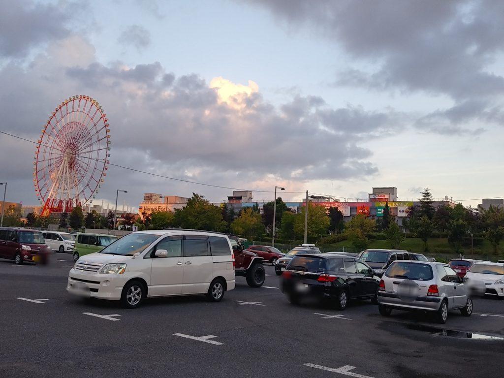 青海北駐車場 ヴィーナスフォート