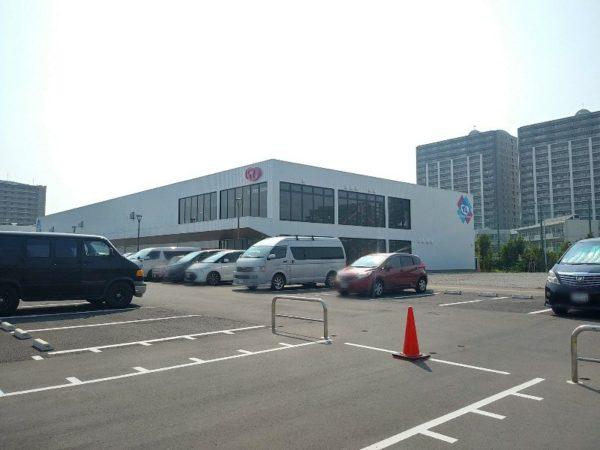 トランポランド 浦安 駐車場